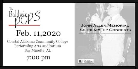 The Baldwin Pops John Allen Memorial Scholarship Concert tickets