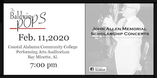 The Baldwin Pops John Allen Memorial Scholarship Concert