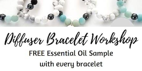 Diffuser Bracelet Workshop tickets