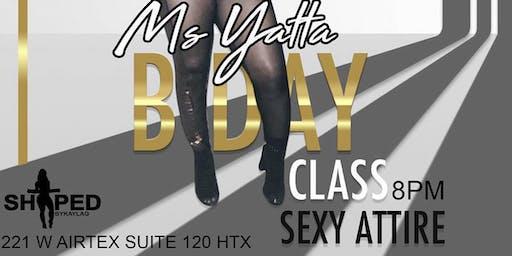 Sexy dance class w/ @msyatta