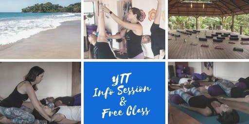 Free Yoga Class & Teacher Training Informational Session