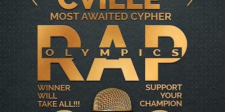 Cville Rap Olympics tickets