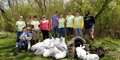 Cosley Zoo Stream Clean-up