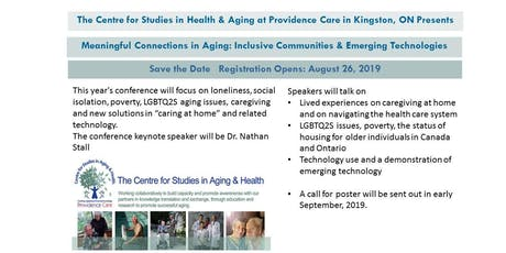 Meaningful Connections in Aging: Inclusive Communities  & Emerging Technologies tickets