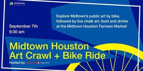 Midtown Art Crawl + Bike Ride  tickets