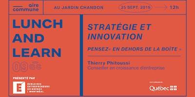 09AC | Stratégie et innovation: pensez « en dehors de la boîte »
