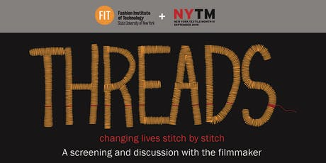 Threads: Changing Lives Stitch by Stitch  tickets
