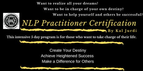 NLP Practitioner Training Certification  tickets