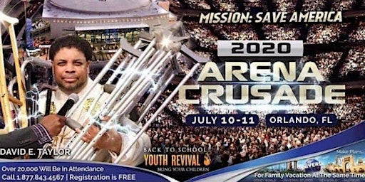 Miracles in America Arena Crusade