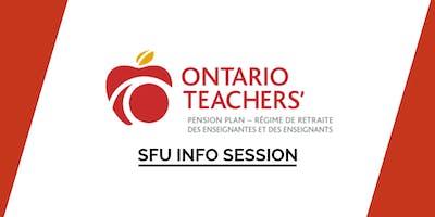 SFU Ontario Teachers\
