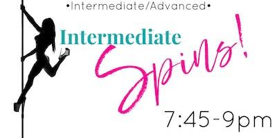 Monday 9/16 -- Intermediate/advanced 7:45 - 9:00pm