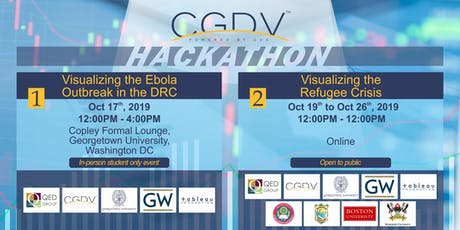 Data Visualization Hach-a-thon: Visualize the Ebola Outbreak in the DRC tickets