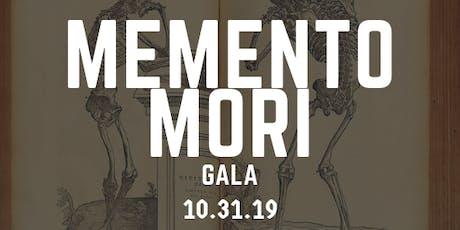 MEMENTO MORI Halloween Gala tickets