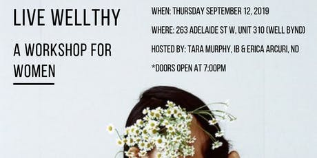 Live Wellthy: A Workshop for Women tickets