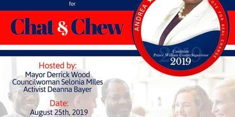 Chat & Chew tickets