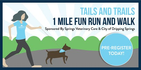 Tails and Trails 1 Mile Fun Run and Walk tickets