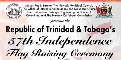 Trinidad and Tobago's 57th Independence Flag Raising Ceremony