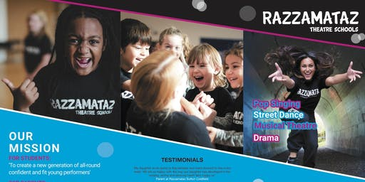 Razzamataz Theatre Schools, Bristol North