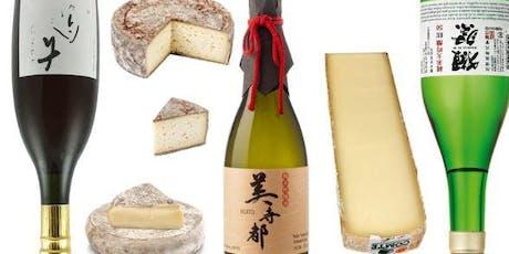 Soirée de dégustation de Saké et fromages billets