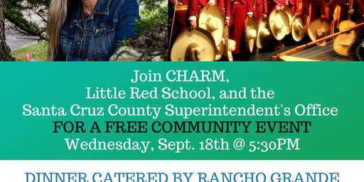 Free Dinner and Evening with Scarlett Lewis and Mariachi Apache