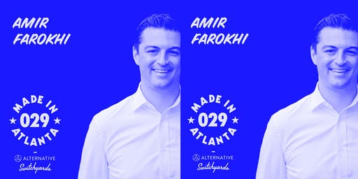 Made in Atlanta 029 : Councilmember Amir Farokhi