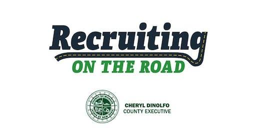 Recruiting on the Road - School Bus & Professional Job Fair