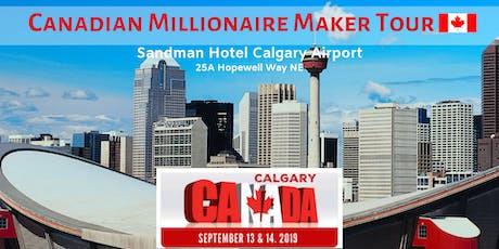 Canadian Millionaire Maker Tour 2019 tickets