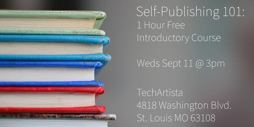 Self-Publishing 101: Free 1-Hour Introduction Course