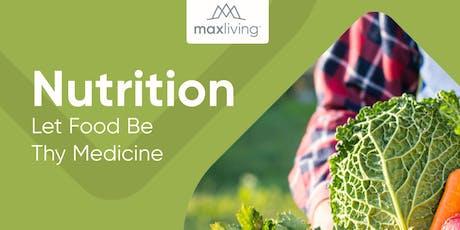 Nutrition Workshop: Let Food be Thy Medicine tickets
