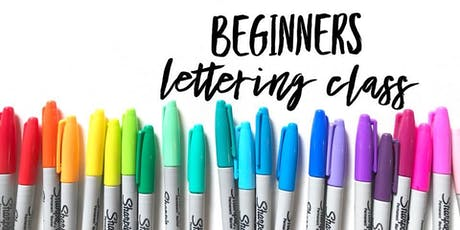 Beginners Lettering Class with Wild Goat Design tickets