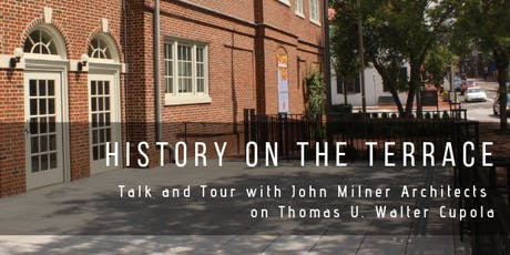 History on the Terrace: Talk and Tour with John Milner Architects tickets