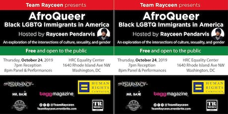 AfroQueer: Black LGBTQ Immigrants in America tickets