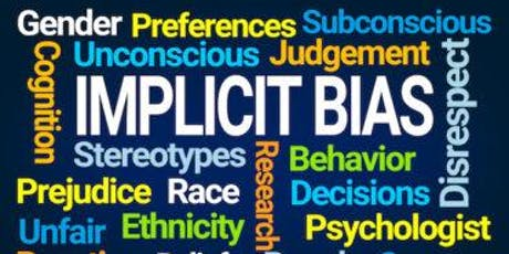 Implicit Bias in the Workplace tickets