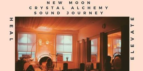 New Moon Crystal Alchemy Sound Journey tickets