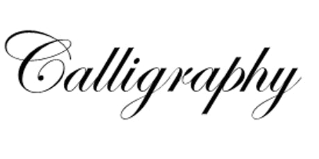 Advanced Calligraphy with Carolyn Mcpherson tickets