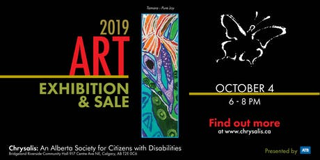 2019 Chrysalis Art Exhibition & Sale (CGY) tickets