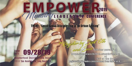 EMPOWER Ministry Leadership Training Conference 2019 tickets