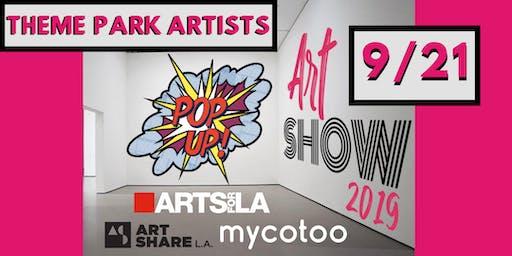 3rd Annual Pop-Up Art Show