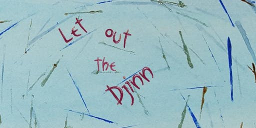 Jane Aldous launches Let Out the Djinn