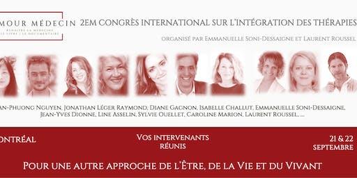 2ème Congrès international sur l'intégration des thérapies