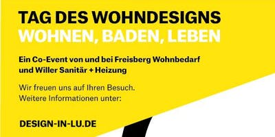 Tag des Wohndesigns in Ludwigshafen am Rhein - Wohnen, Baden, Leben