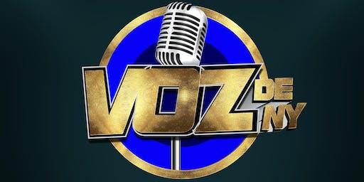 Reunion Preliminar del concurso de canto VOZ DE  NY Agosto 3 5:00 pm