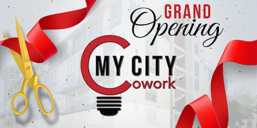 My City Cowork Grand Opening Ribbon Cutting