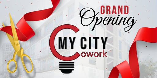 My City Cowork Grand Opening Networking Social