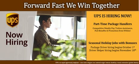 UPS Hiring Event @ Vancouver Avenue First Baptist Church tickets