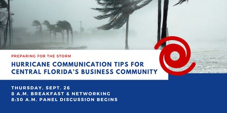 Hurricane Communication Tips for Central Florida's Business Community tickets