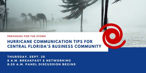 Hurricane Communication Tips for Central Florida's Business Community