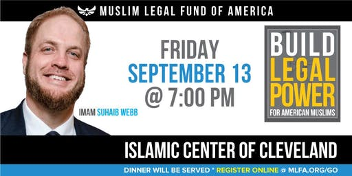 Build Legal Power for American Muslims with Imam Suhaib Webb - Parma, OH