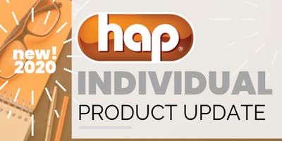 2020 HAP Individual Product Update Training- NOVI