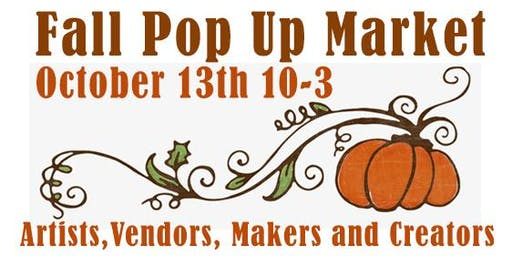 Fall Pop Up Market